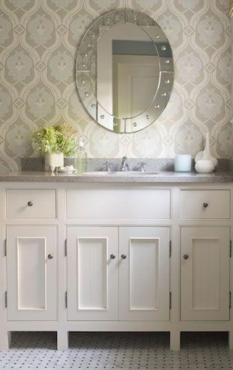 Best 25 Bathroom Wallpaper Diy Ideas On Pinterest