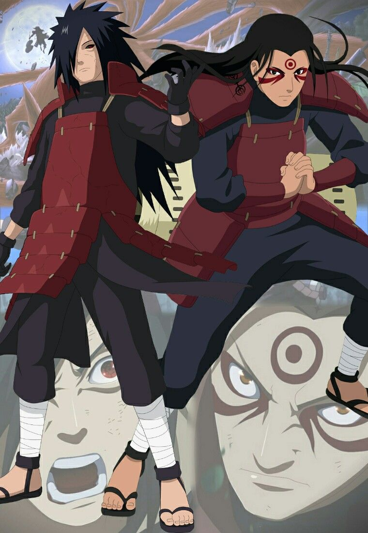 You can say oh but hashirama said he was madara's rival at the beginning! but it's pretty clear that friendship came first for the two of them. Madara e Hashirama | Anime naruto, Personagens de anime, Anime