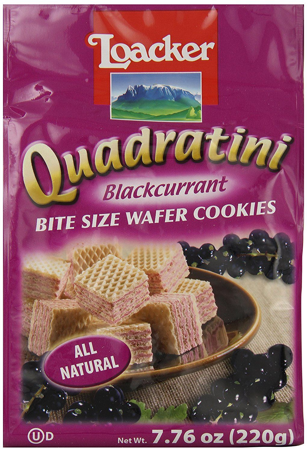 Loacker Quadratini, Black Currant, 7.76-Ounce (Pack of 8) *** New and awesome product awaits you, Read it now : : Fresh Groceries