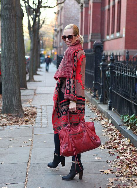 Dress Down Friday: Blanket Sweater | Brooklyn Blonde