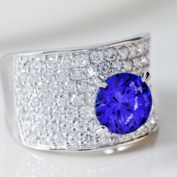 Bold Blue Cocktail Ring Cocktail Rings Rings Jewelry