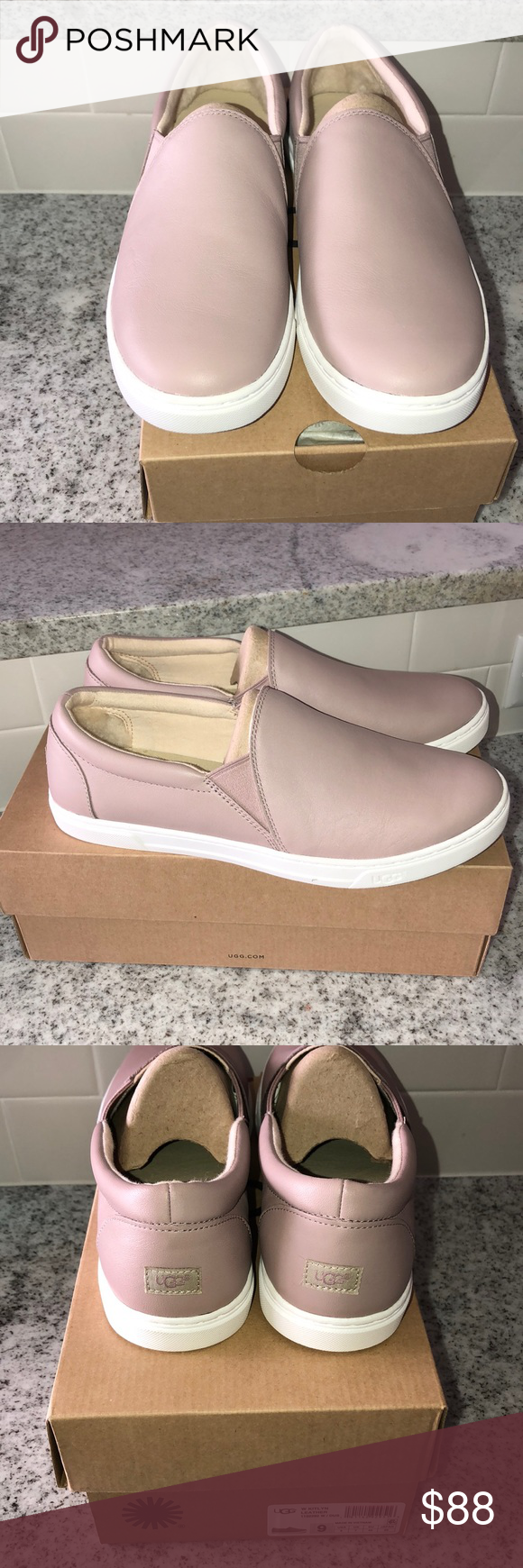 338eb19f664 UGG Shoes | Ugh Kitlyn Slip On Sneakers | Color: Pink | Size: 9 | My ...