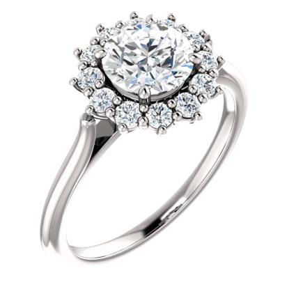 Anna forlovelsesring, 1.30 carat, TW(F)/VS