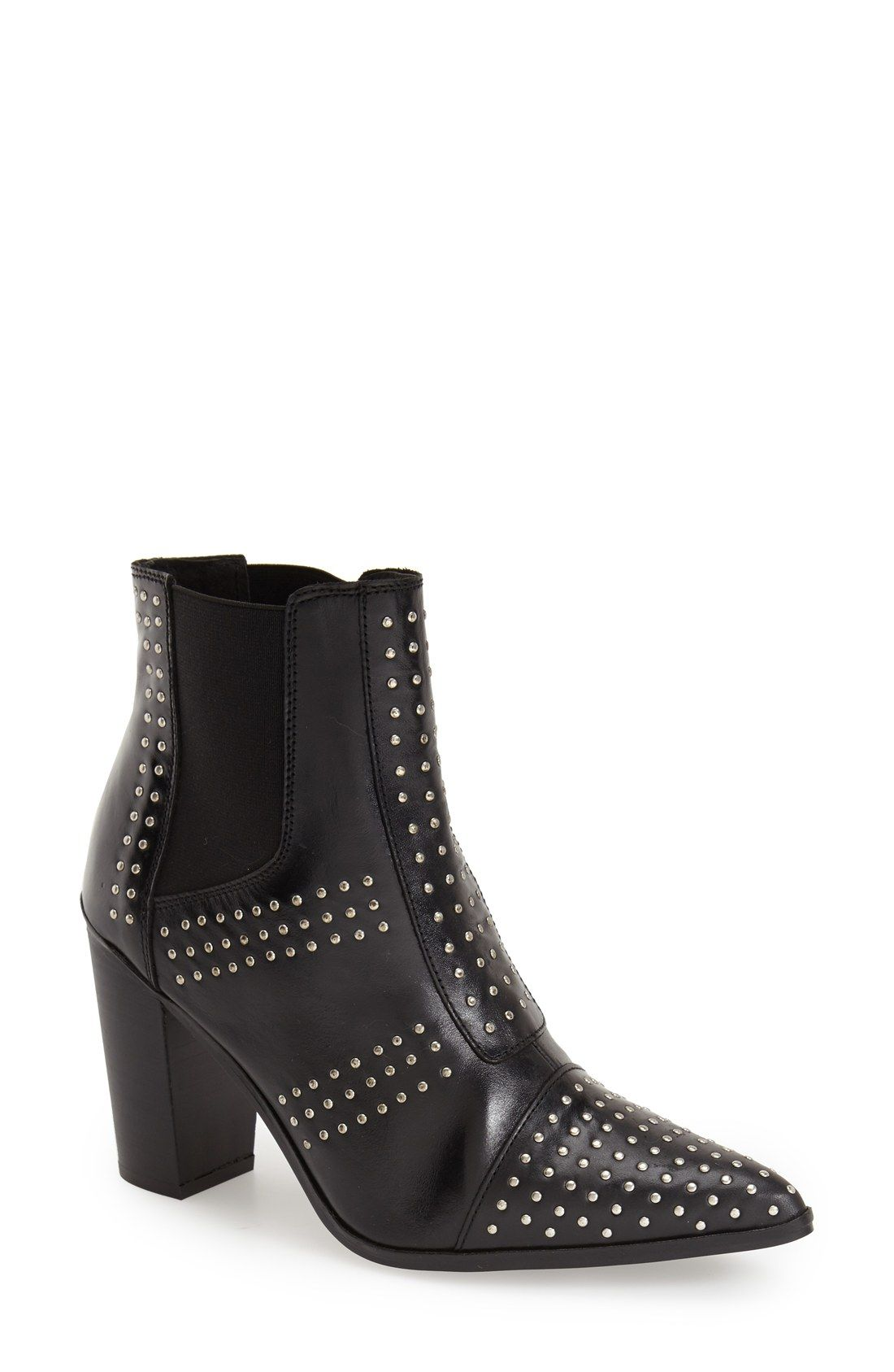 Topshop Pointy Studded Pointy Topshop Toe Boot (Mujer) boats..made for walking a22ae2