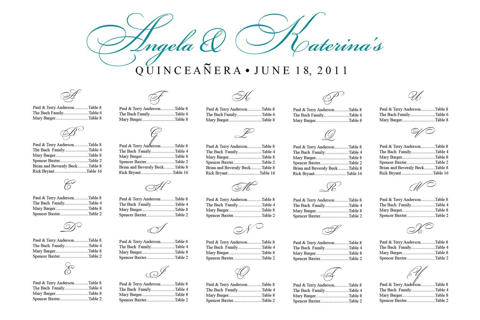 sample wedding seating chart wedding seating chart example pink