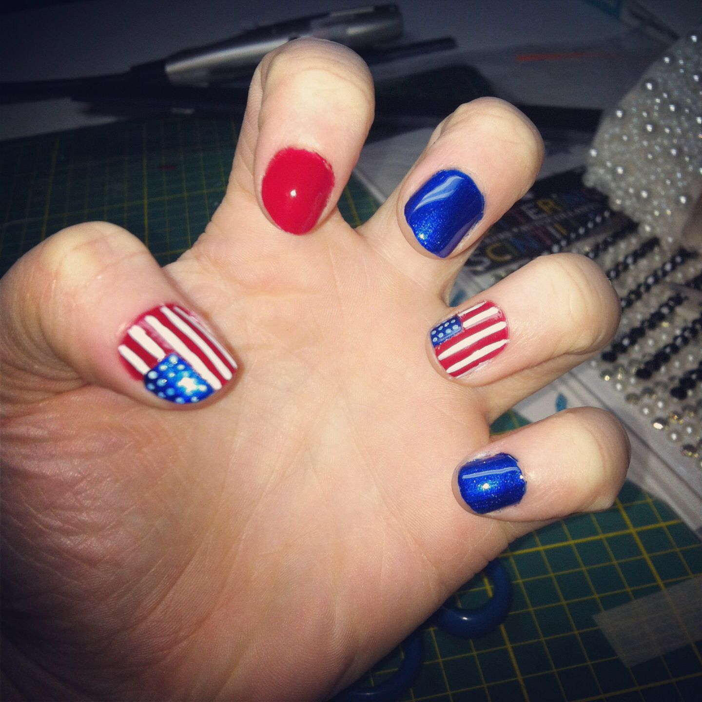 team usa nails