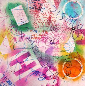 Art is Basic-- Art Teacher Blog: Painting Fabrics