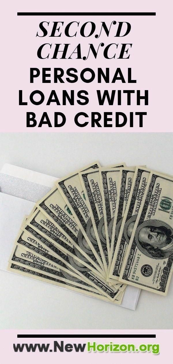 Second Chance Loans Are Loans Given To People With Poor Credit
