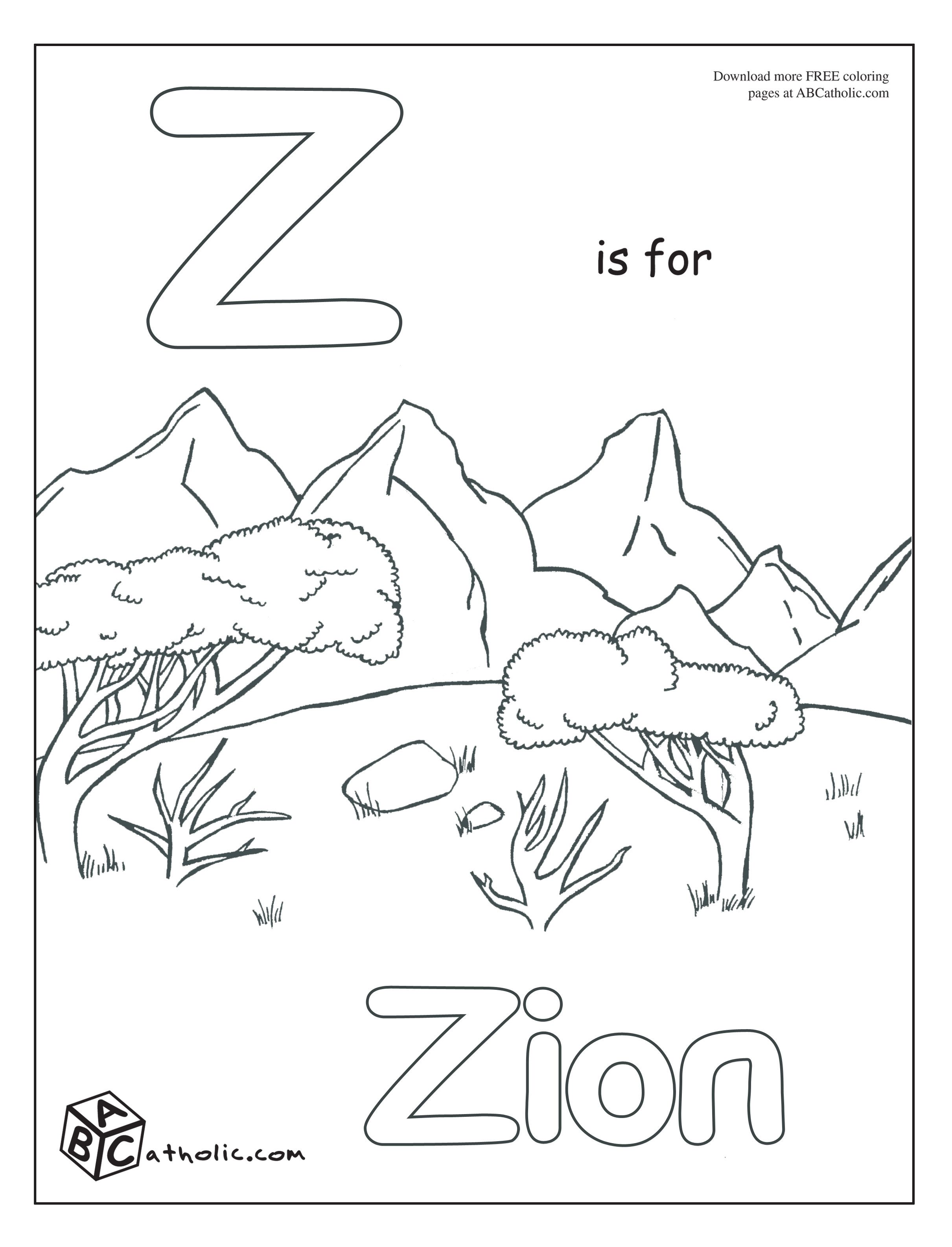 ABC Catholic...Catholic alphabet coloring pages | Preschool Stuff ...