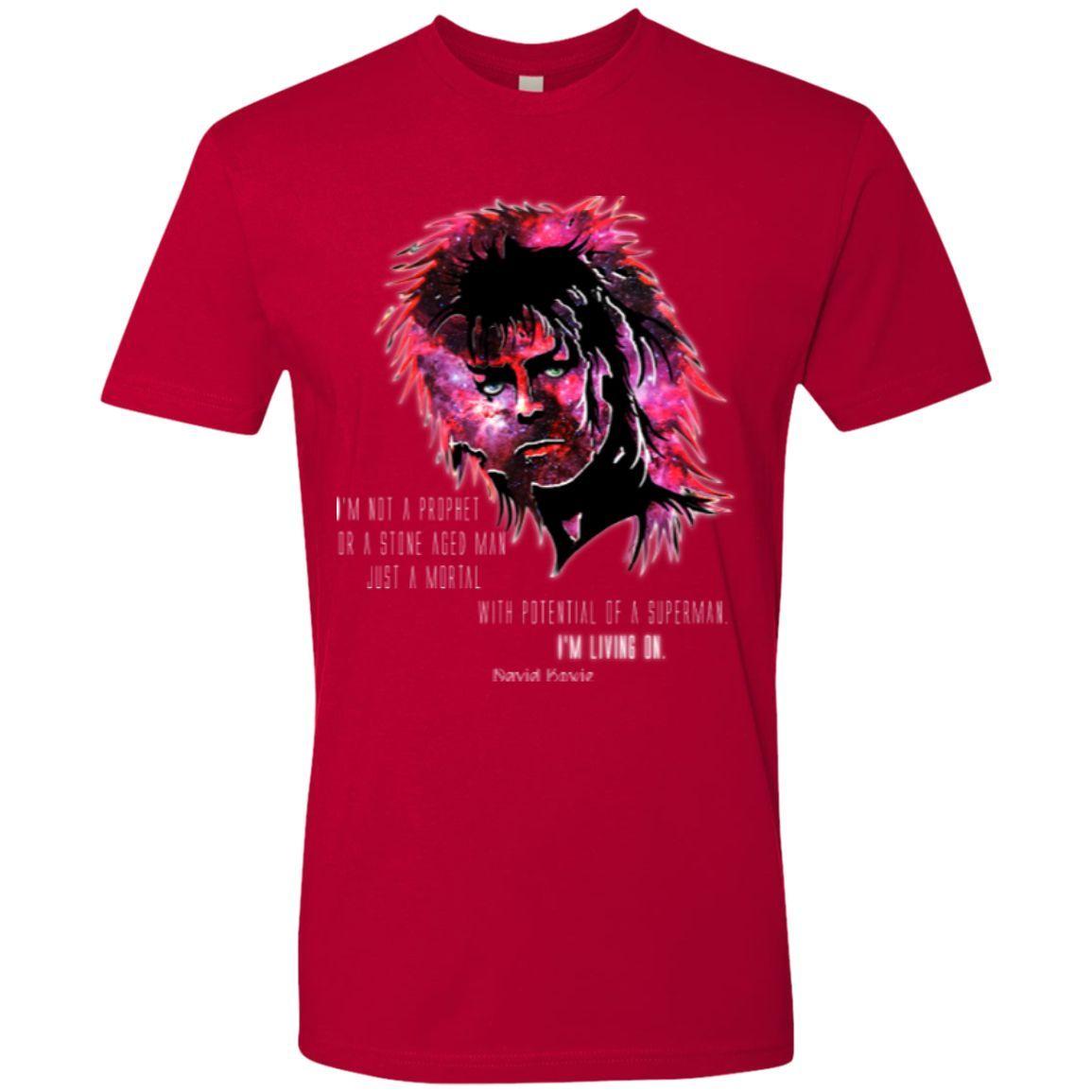 David Bowie - I'm Living On - Next Level Premium Short Sleeve Tee
