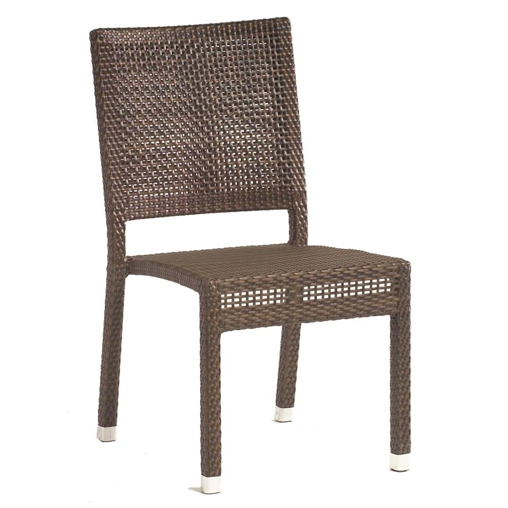 Farbige Esszimmerstühle All Weather Wicker Dining Chairs Esszimmerstühle Side Chairs