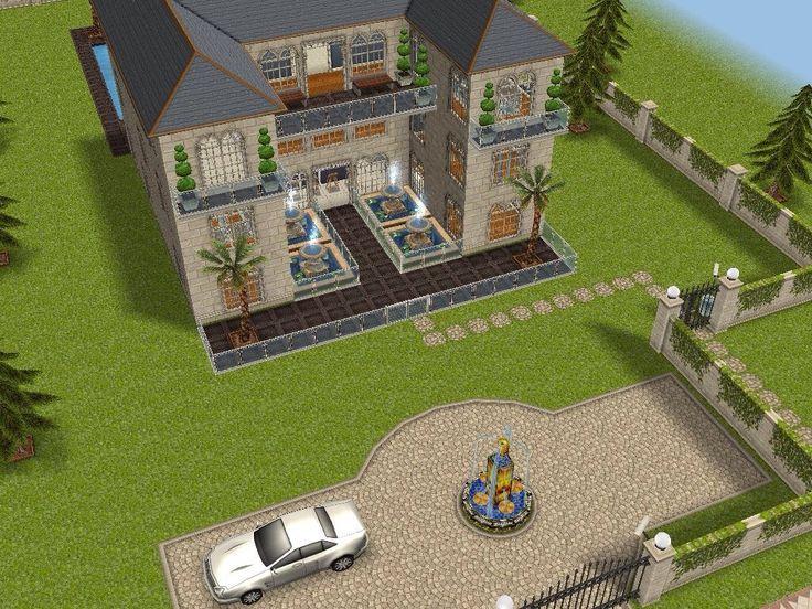 Célèbre Villa des ados maison 1 vue avant (la vue arrière est 4 ou 5  CM59