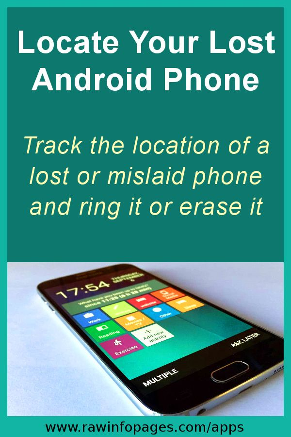 How to find, lock, erase Android phones and tablets
