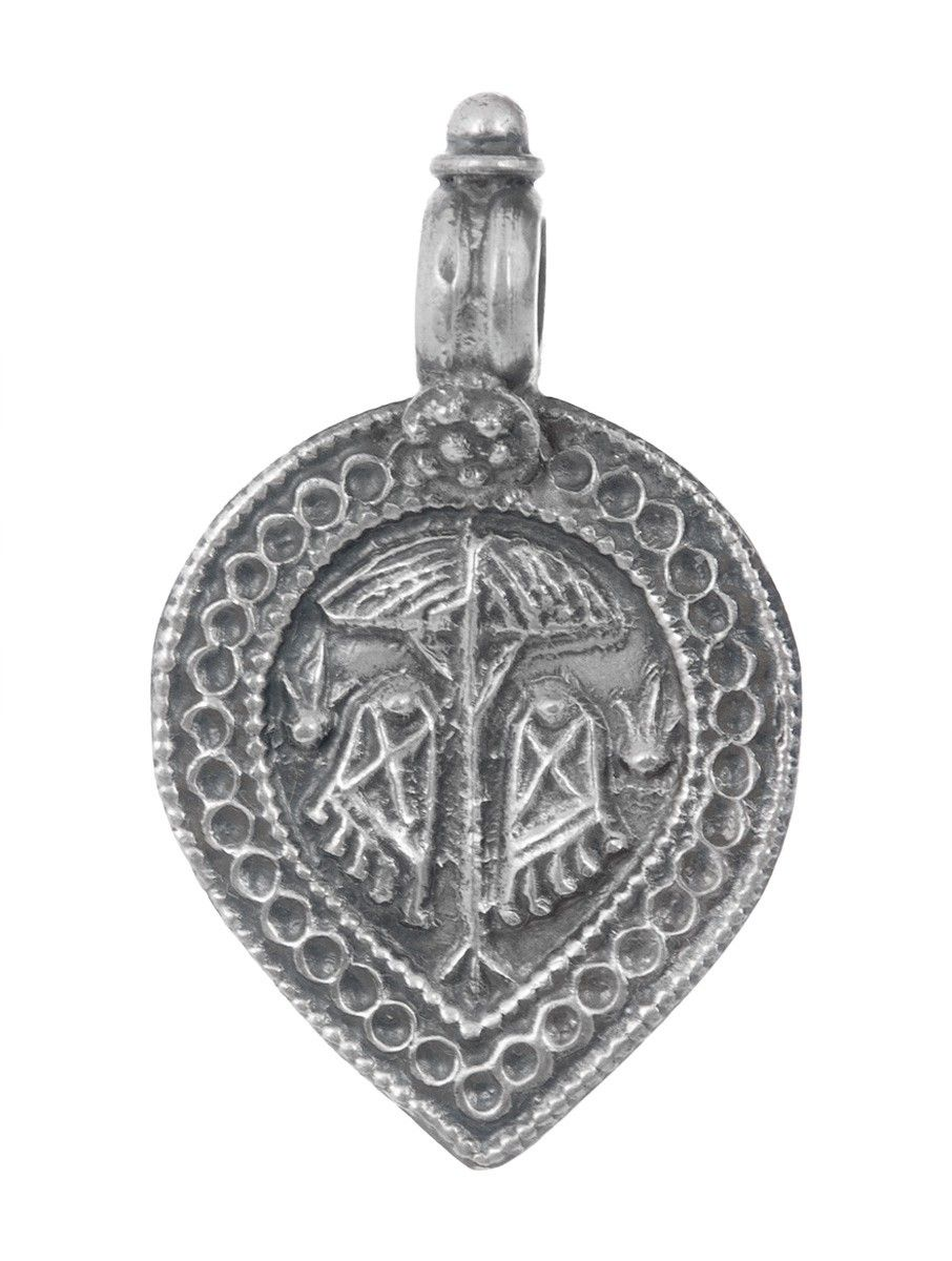 Buy tribal silver pendant by jewels india online buy silver tribal pendant by jewels india jewelry story handmade necklaces earrings and pendants with etchings aloadofball Choice Image