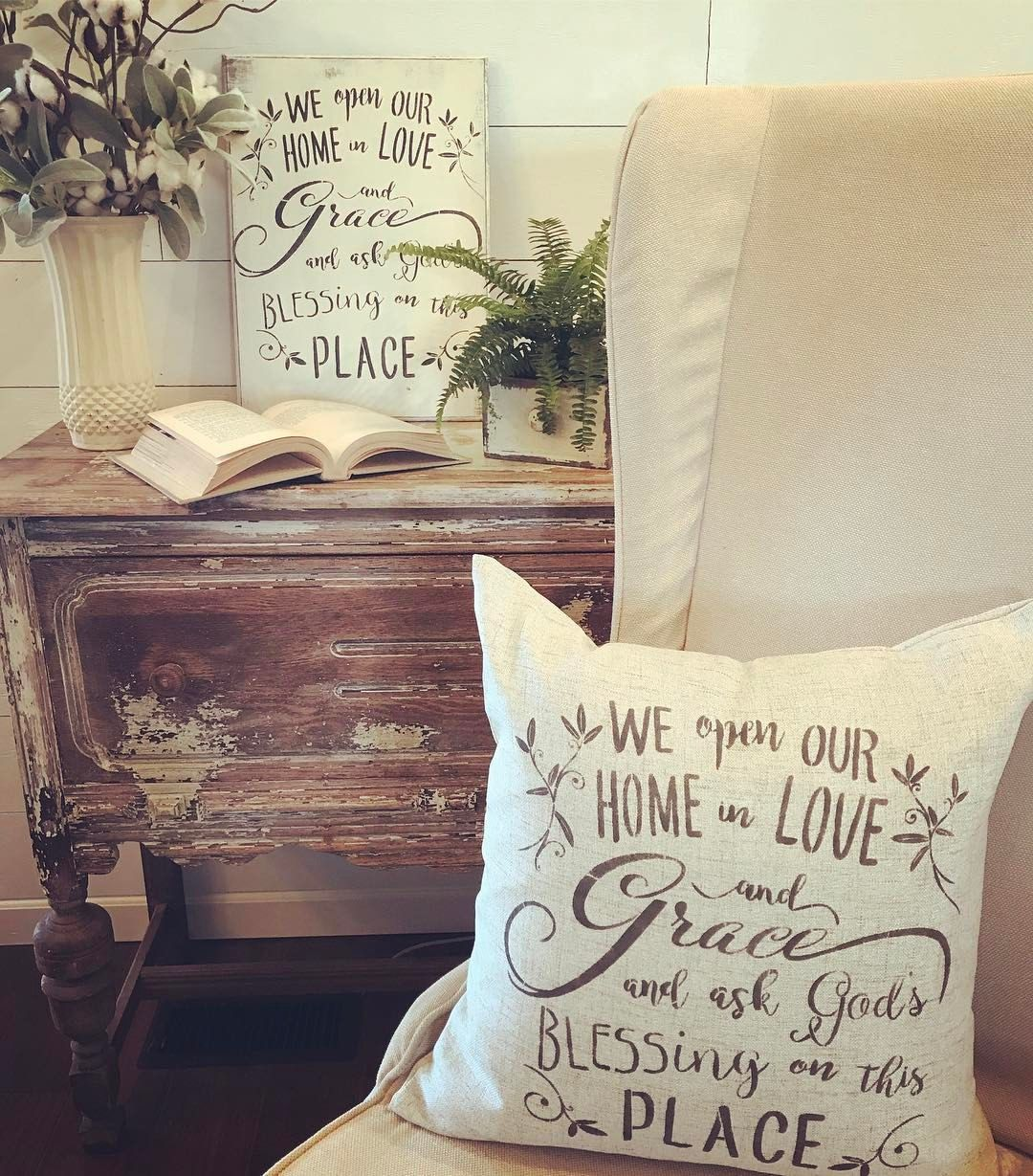 """3 Likes, 1 Comments - Laurie  (@ladypaintsalot) on Instagram: """" there is no place like home  sharing a few crafty inspirations #homeiswheretheheartis…"""""""