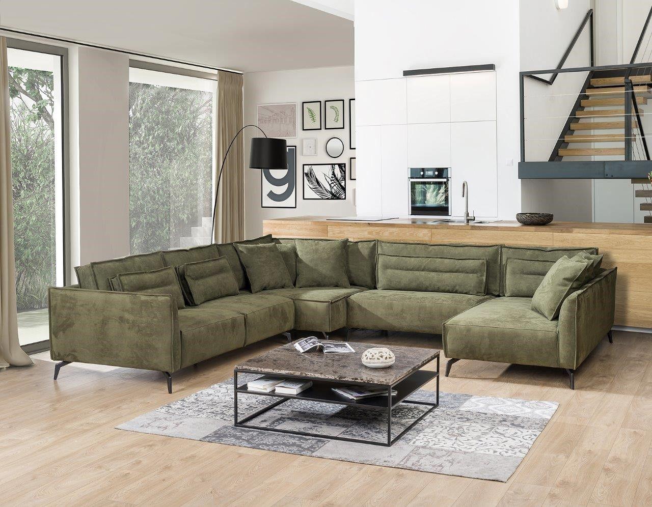 Primavera, Polster-Sofa-Garnitur, Textil, Crete   Möbel   Pinterest ...