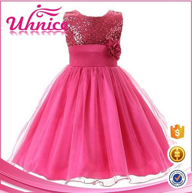 Source New arrivals latest children party wear dresses for girls age ...