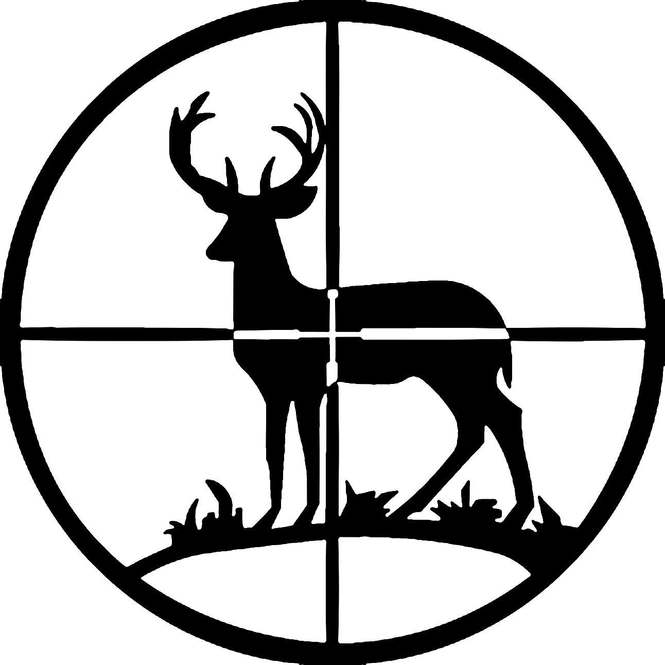 deer hunting silhouette clipart free clip art images wood rh pinterest com deer hunting clipart in color deer hunting clipart images