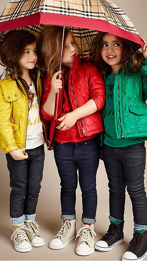 Girls' Clothes & Accessories | Winter collection, Winter and ... : burberry quilted jacket kids - Adamdwight.com