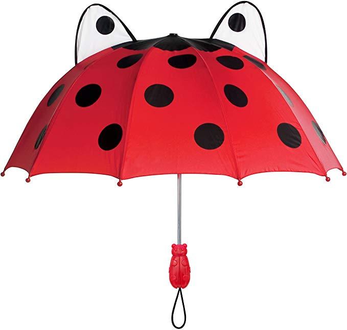 Amazon.com: Kidorable Red Ladybug Umbrella for Girls w/Fun Ladybug Handle, Pop-Out Eyes, Polka Dots: Clothing #cuteumbrellas Amazon.com: Kidorable Red Ladybug Umbrella for Girls w/Fun Ladybug Handle, Pop-Out Eyes, Polka Dots: Clothing #cuteumbrellas