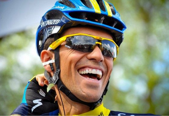 Alberto Contador wearing ZERO Rh by ALLiSON
