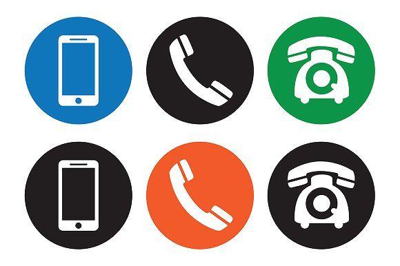 Telephone Icons Web Icons Icon Set Business Icon