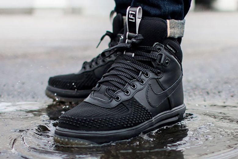 nike lunar force 1 duck boot mens black