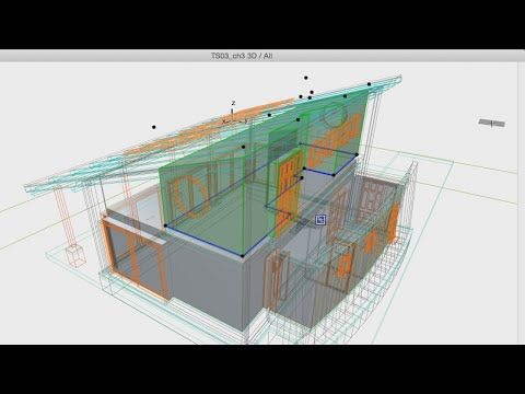 Refining Zones in 3D - ArchiCAD 18 Training Series 3 – 22/52