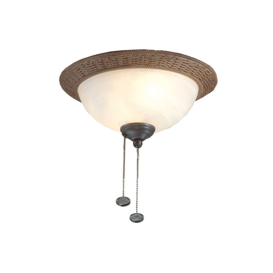 Lowes Harbor Breeze 2 Light Aged Bronze Ceiling Fan Light Kit With Bowl Light Kit Glass Ceiling Fan Light Kit Bronze Ceiling Fan Lowes Home Improvements