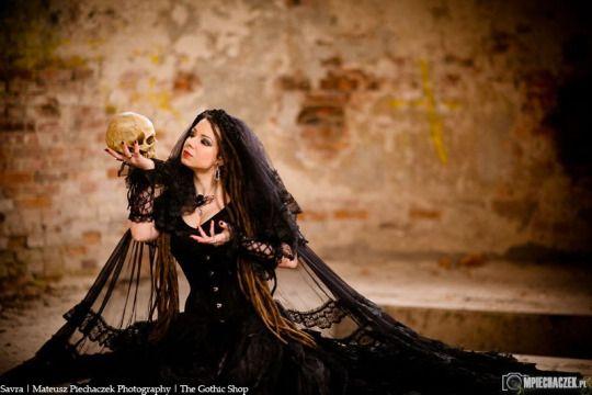 Model: Savra Photo: Mateusz Piechaczek Photography Clothes: Sinister - Jewelery: Alchemy Gothic for The Gothic Shop - www.the-gothic-shop.co.uk  Welcome to Gothic and Amazing |www.gothicandamazing.org