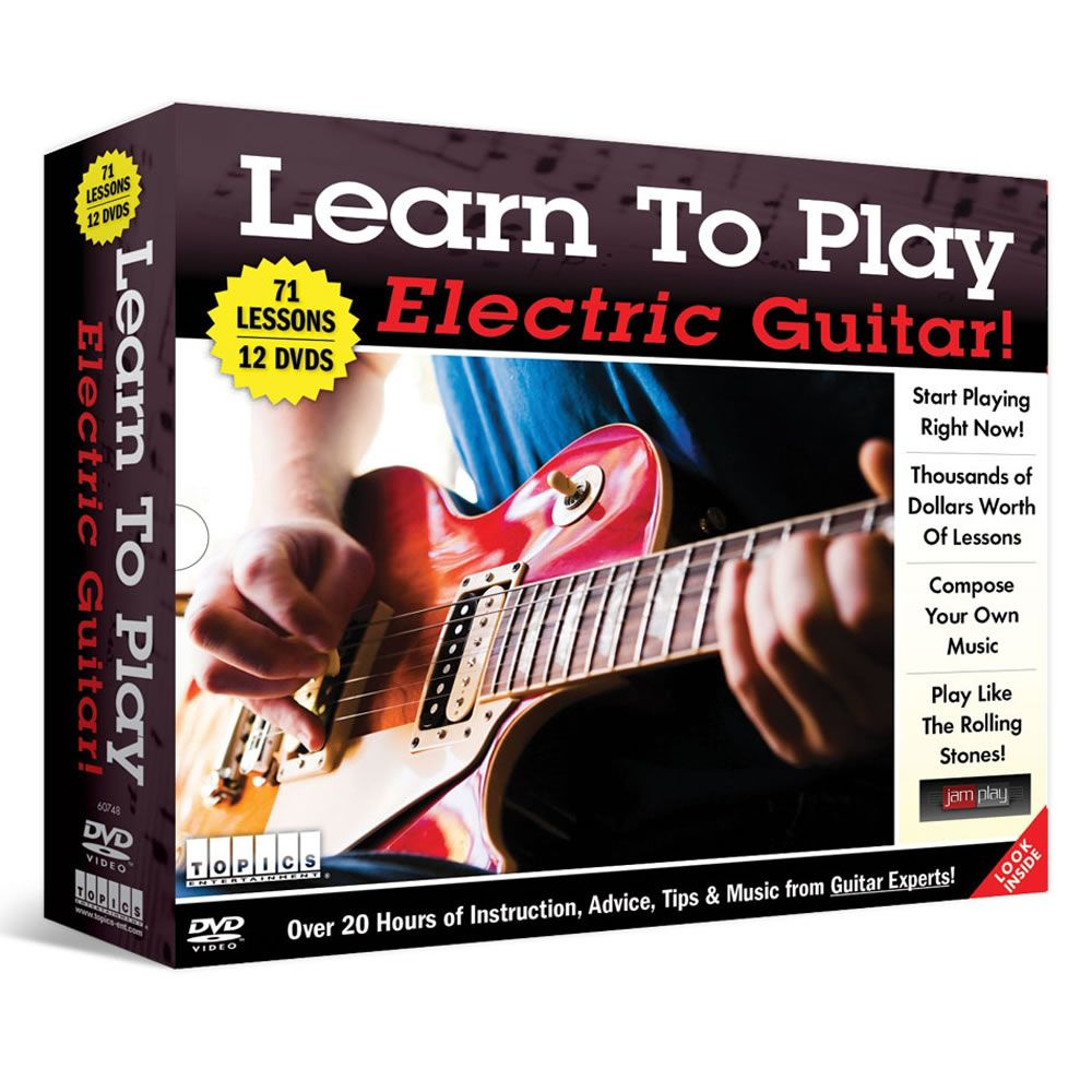 the learn to play electric guitar dvds the fantasy bag guitar learn to play guitar y guitar. Black Bedroom Furniture Sets. Home Design Ideas