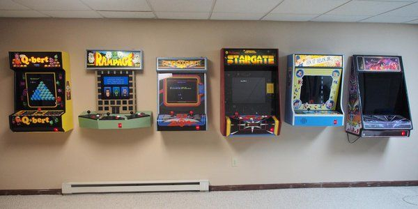 Wall Mounted Arcade Cabinet Google Search
