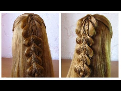 Tuto Coiffure Simple Cheveux Long Coiffure Tresse Facile A