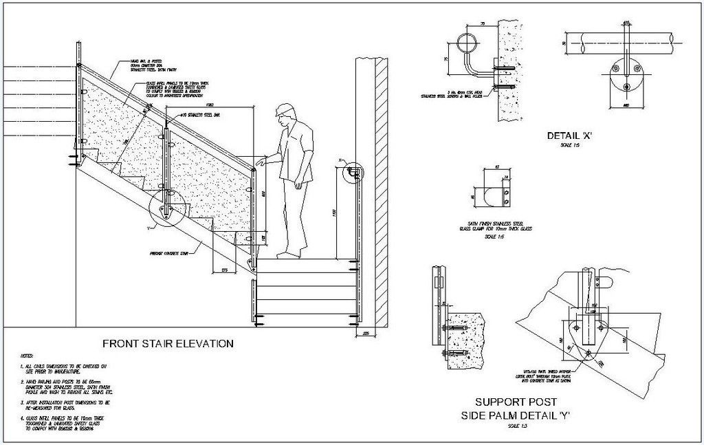 Image Result For Railing Construction Drawing Bridge