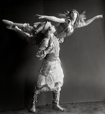tamara karsavina | TAMARA KARSAVINA AND ADOLPH BOLM EM FIREBIRD 1911