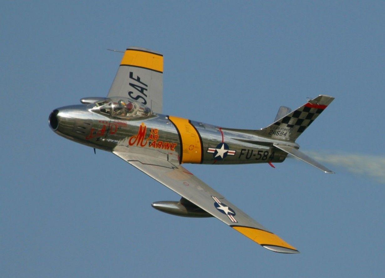 Обои painting, ww2, jet, Airplane, aviation, North american f-86d sabre, war, jet. Авиация foto 19