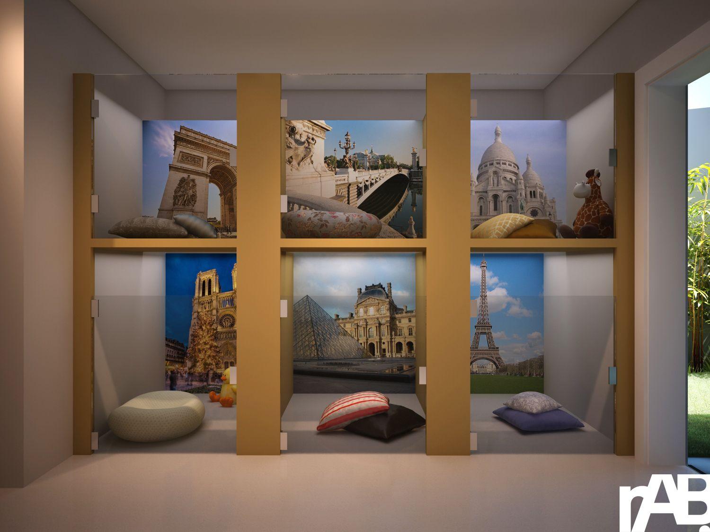 Pin de j ssica tonello arquitetura interiores em petshop chenil salon de toilettage e - Le salon de toilettage petshop ...