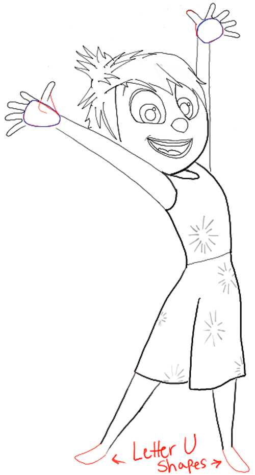 How To Draw Joy From Disney Pixars Inside Out With Easy Steps To Follow How To Draw Step By Step Drawing Tutorials How To Draw Steps Step By Step Drawing