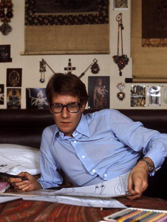 Quand Yves Saint Laurent habillait le theatre