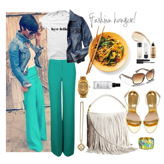 Style inspired by @bgasibyk using our #ByeFelicia tee. -- http://buff.ly/1UyLY1K.