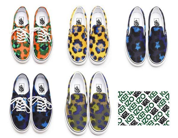 Vans Kenzo printemps 2013 : la collection «Panthère Nébuleuse» — Sneakers-actus
