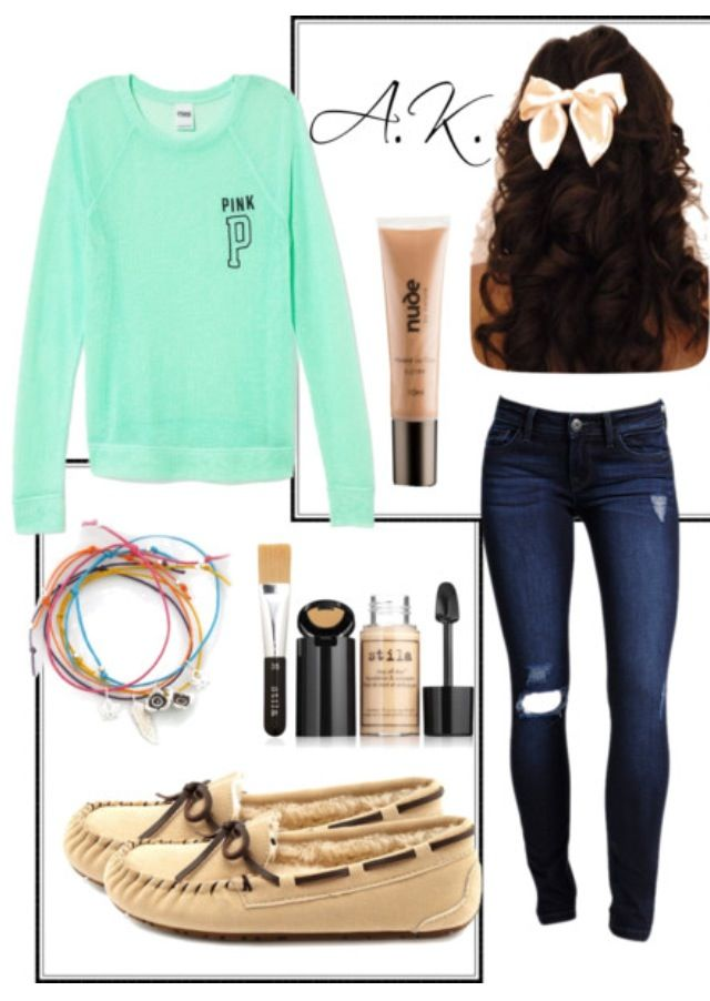A casual but girly outfit. *Girly* | Fashion | Winter ...