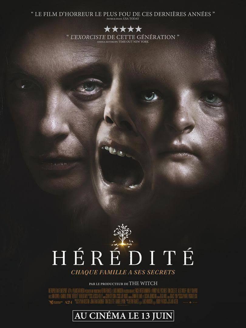 Sortie ciné 13 juin 2018 : Film Hérédité de Ari Aster