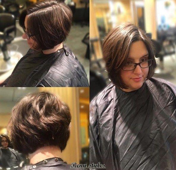 Latest stacked bob haircut 2017 2018 - Reny styles