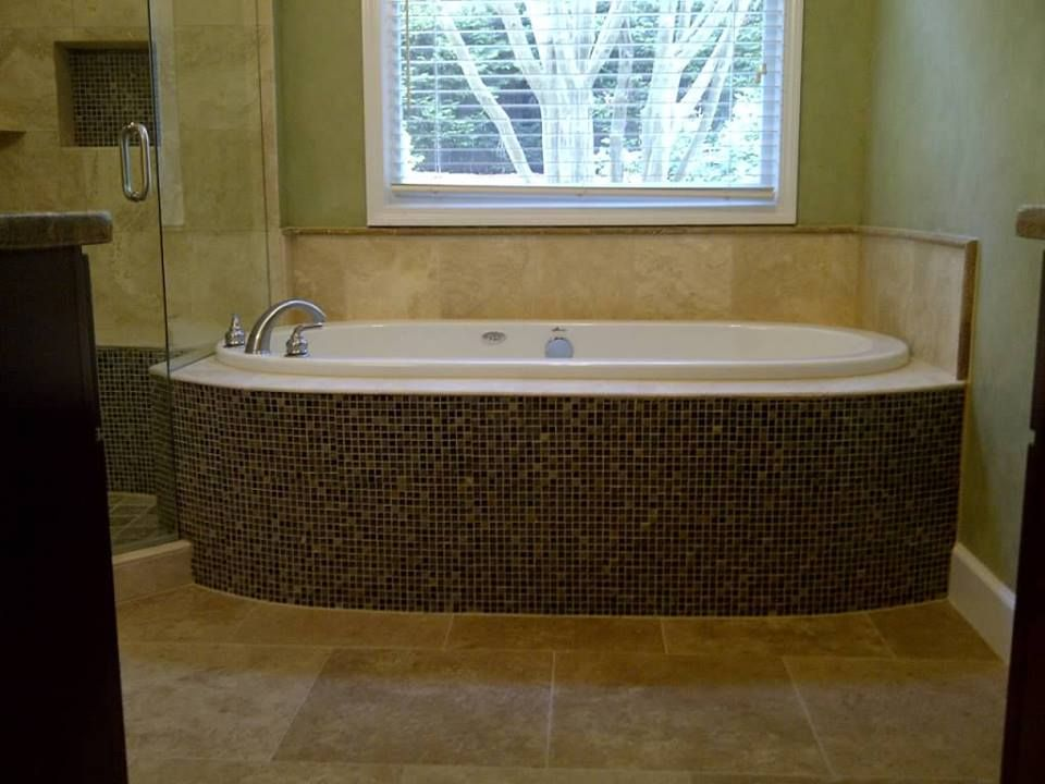 Yes Final Touch Flooring Group In Historic Acworth Ga Renovated This Tub As Well So Pretty Flooring Projects Flooring Renovations