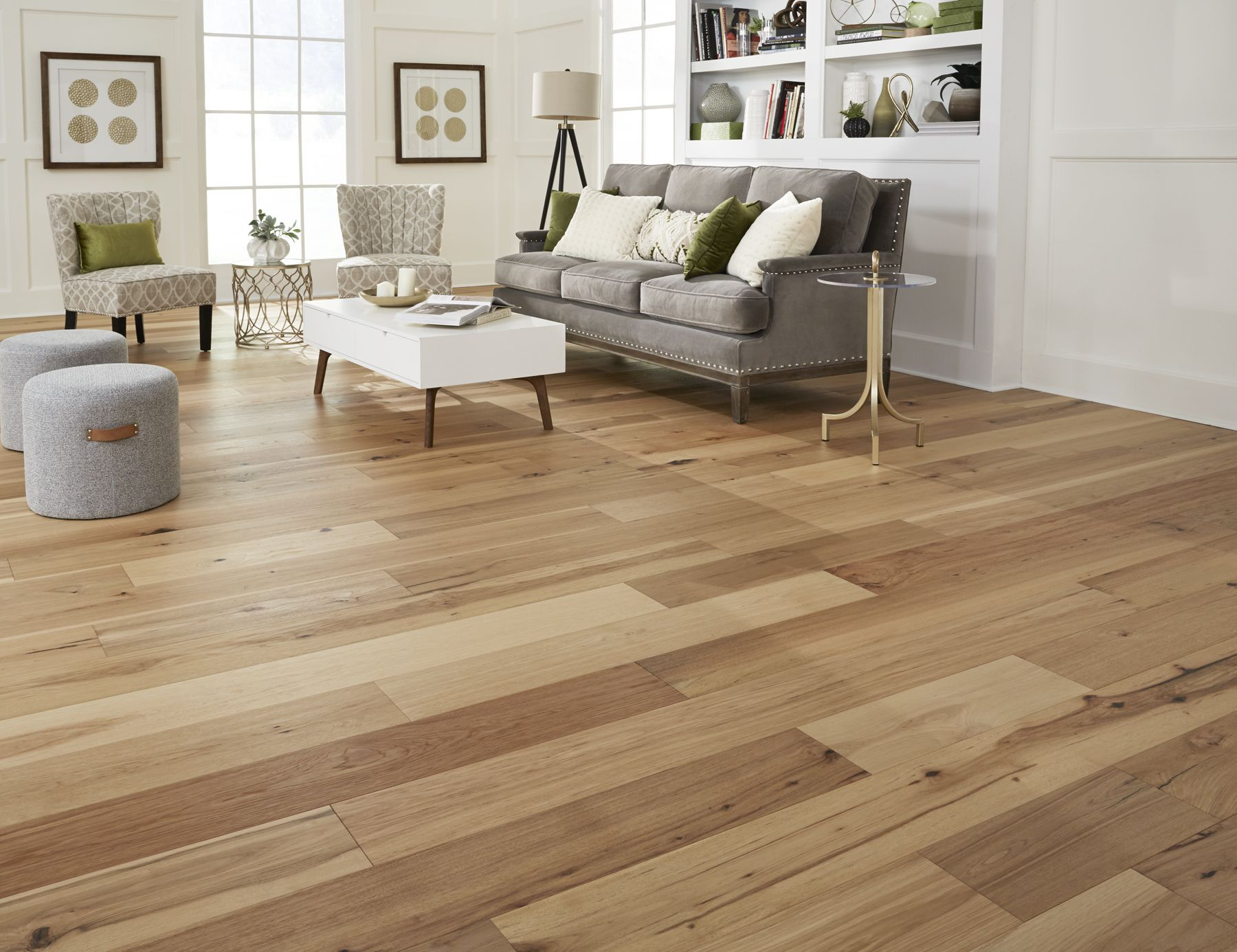 Virginia Mill Works Engineered 9 16 X 7 1 2 Rustic Hickory E Engineered Hardwood Flooring Wide Plank Hardwood Floors Engineered Hardwood Flooring Wide Plank