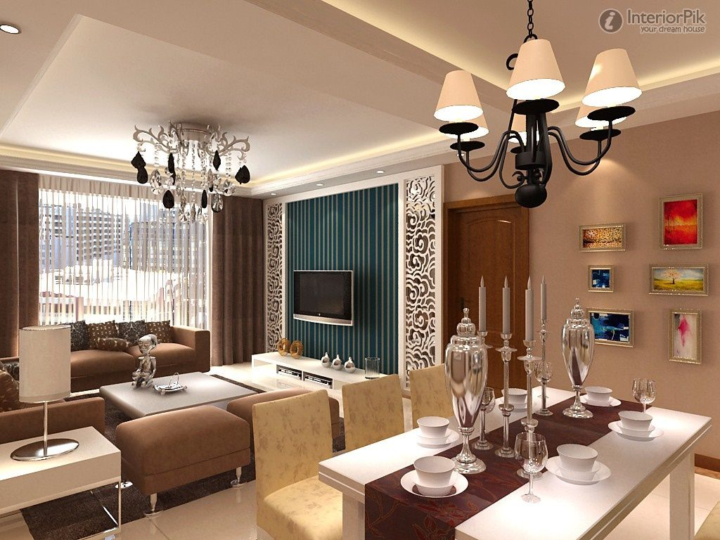 Dining Room Living Ceiling Decoration Effect