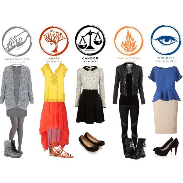 Divergent Faction clothing. | Divergent Fashion ...