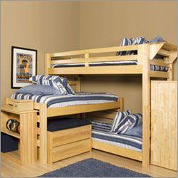 Triple Loft Bunk Bed Very Unique Idea I Don T Know If I Would