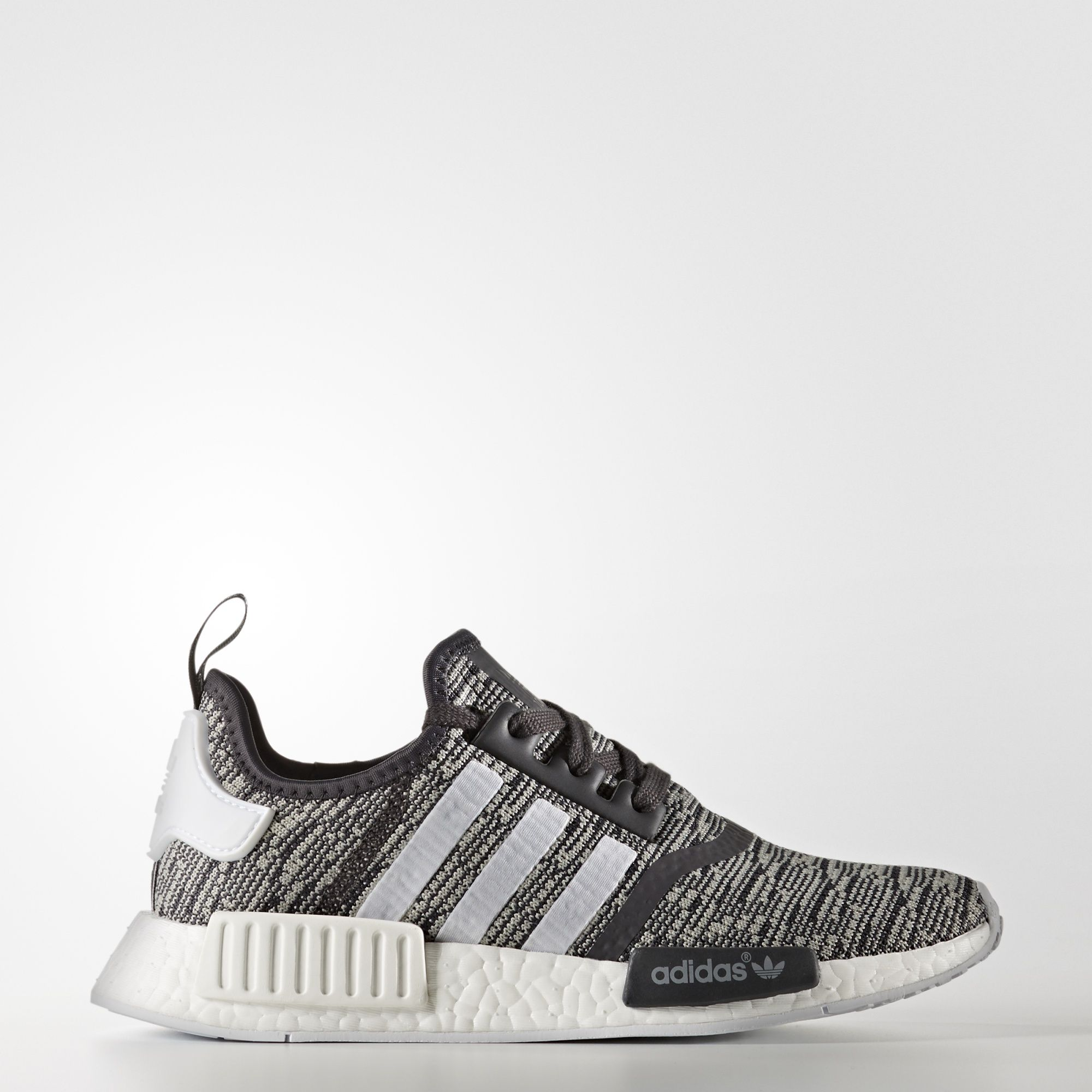 d4fbf4156 The adidas NMD Glitch Camo will release this December 2016 in a women s  exclusive size run featuring grey and black Primeknit.